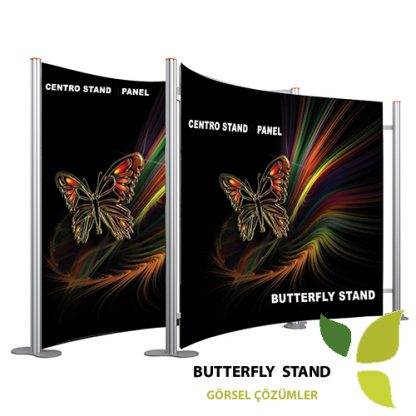 centro stand 3 panel oval