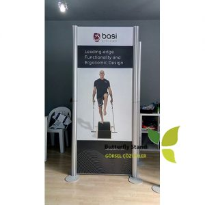 centro banner stand 1 panel 75x200