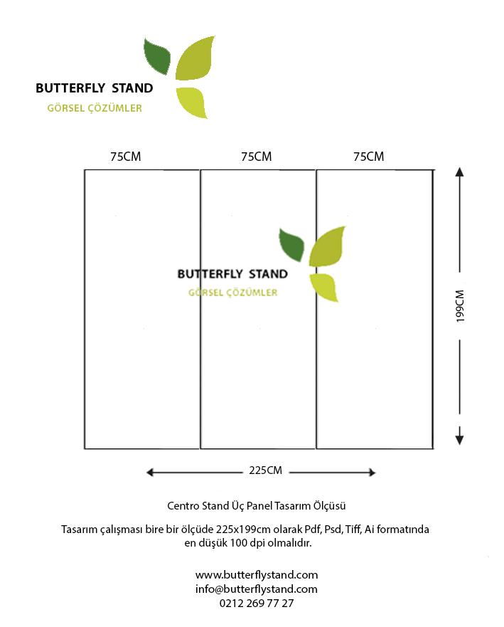 Centro stand düz tasarım ölçüsü 225x200-Tasarım-Ölçüsü-fiyatları-
