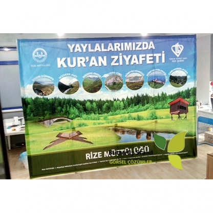 KUMAŞ ÖRÜMCEK STAND 3X4-Üretim