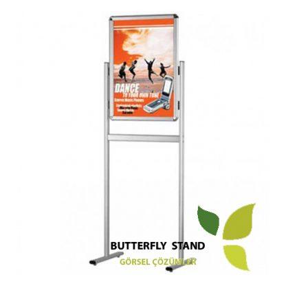 yarım ayaklı çift taraflı eco poster pano
