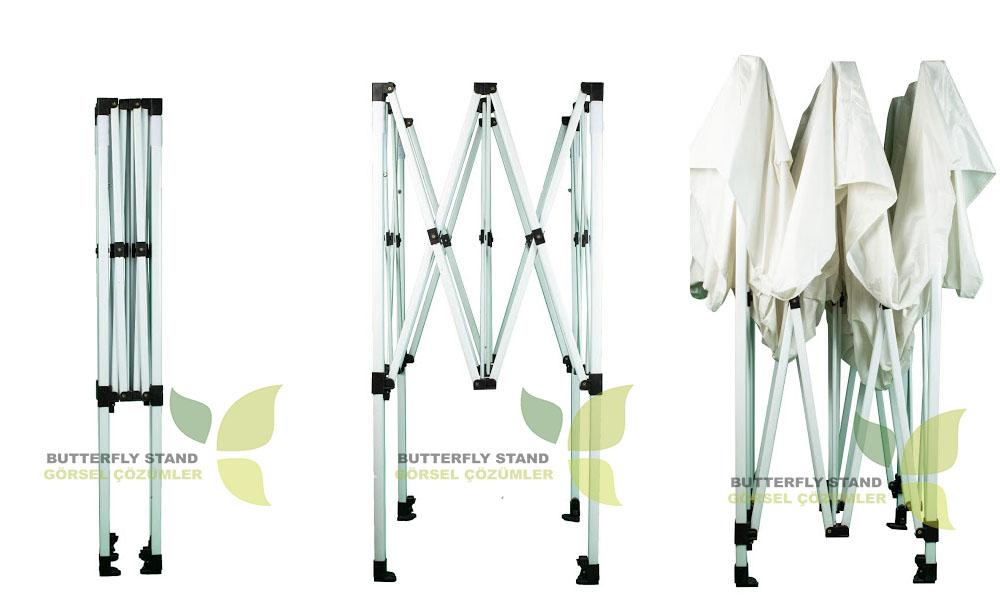 Gazebo Tente-3x3-Çardak-Katlanır Tente-Portatif Tente