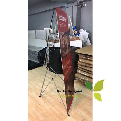 X banner - Buuterfly Stand 60x160-Üretimi-ölçüleri-fiyatları-